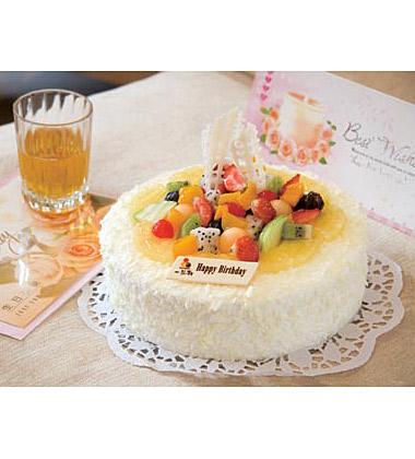 一品�蛋糕/水果夏露多(8寸)