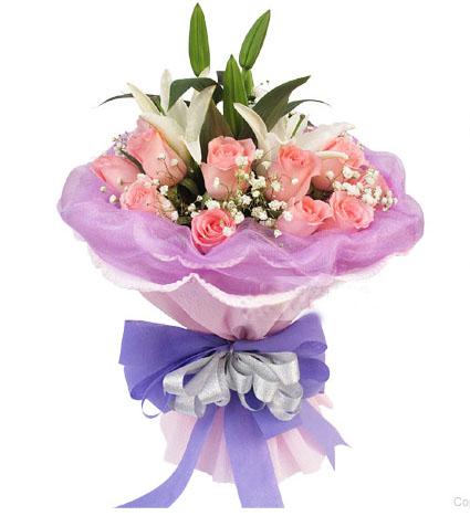 11朵粉玫瑰/幸福女主角
